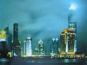 Français : Shangai en lumiere