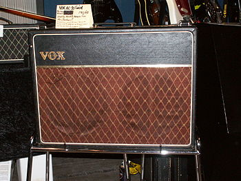 ;VOX AC30 Twin (1961/62) : Used by Hank B. Mar...