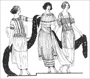 Day dresses for summer 1919 from Vogue magazine