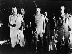 Zombies as portrayed in the movie Night of the...