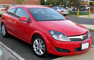 2008 Saturn Astra photographed in College Park...