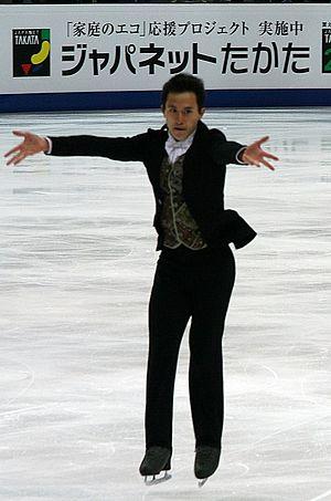 Patrick Chan at the 2011 World Figure Skating ...