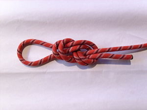 Deutsch: Kletter-Knoten, Seglerknoten