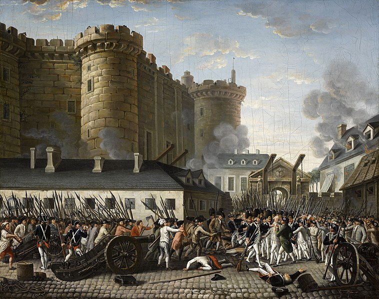 Storming of the Bastile.