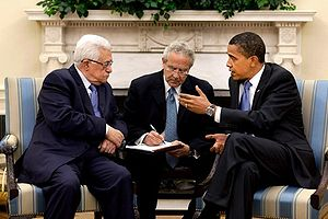 President Barack Obama meets with Palestinian ...