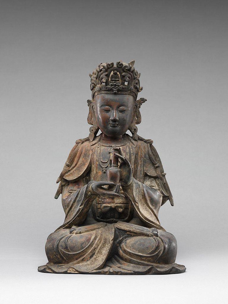 File Bodhisattva Possibly Avalokiteshvara Guanyin 觀音菩薩