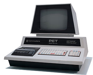 English: Commodore PET 2001 Series Personal Co...