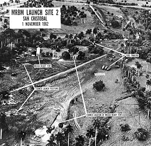U.S. reconnaissance photograph of soviet missi...