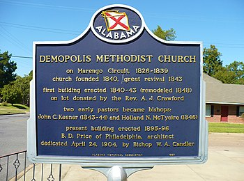 English: First United Methodist Church in Demo...