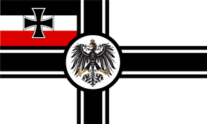War Ensign of the German Empire 1903-1918