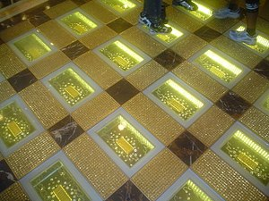 English: Gold Bars At Grand Emperor Casion in ...