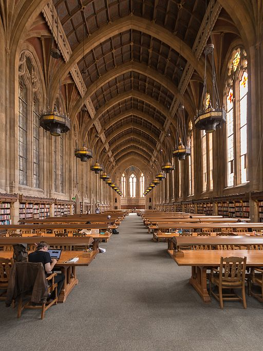 MK03235 University of Washington Suzzallo Library