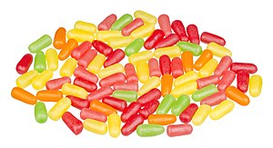 Mike and Ike candies, regular flavor.