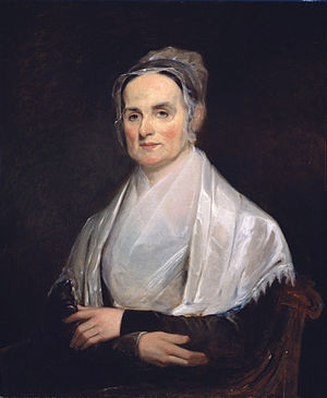 English: Painting of Lucretia Mott (1793 - 188...