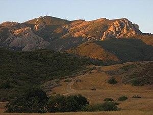 Mount Boney in the Santa Monica Mountains from...