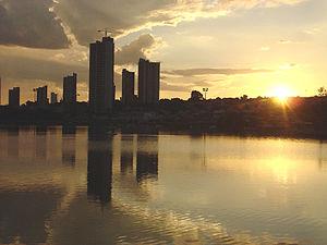 Por do Sol em Campo Grande - MS - Brasil
