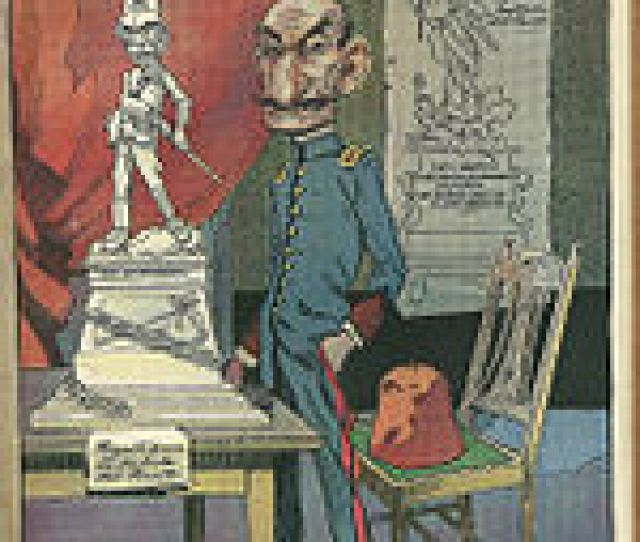 Caricature Of Falcon On The Cover Of Caras Y Caretas