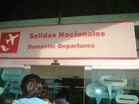 Salidas nacionales del aeropuerto de Toluca