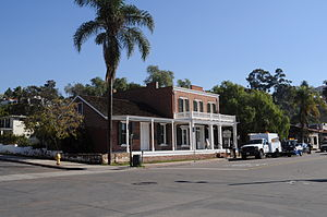 English: Whaley House Museum, Old Town, San Di...