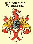 Wappen der Schelme von Bergen (Siebmacher-Wappenbuch, 1605)