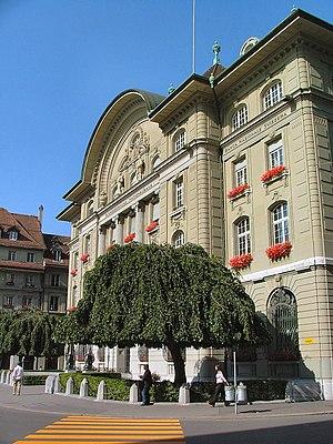 Suisse 2005 Berne banque nationale