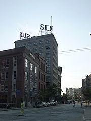 Former Lowell Sun headquarters