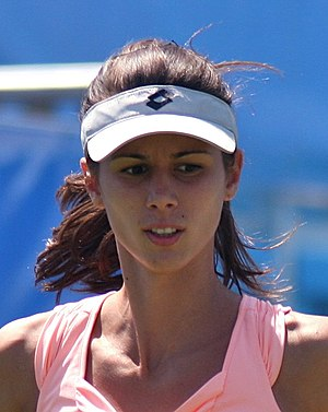 English: Bulgarian tennis player Tsvetana Piro...
