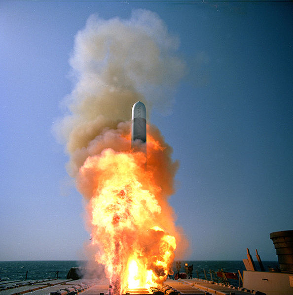Peluncuran Rudal Tomahawk