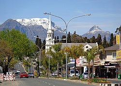 Little town of Wellington, Western Cape, South Africa