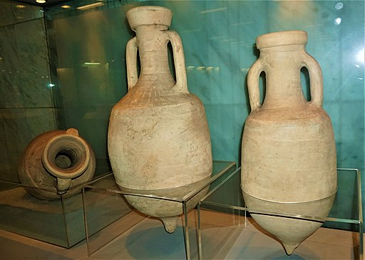Wine Amphorae - Syntagma Metro Station Archaeological Collection by Joy of Museum