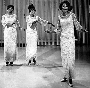Publicity photo of The Supremes from The Ed Su...