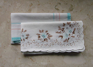 Pretty handkerchiefs (Photo credit: Wikipedia)