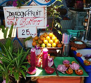 Dragon fruit juice
