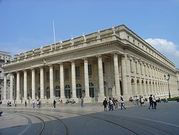 The Grand Théâtre de Bordeaux