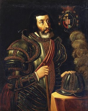 Portrait of Cortés at Museo del Prado.