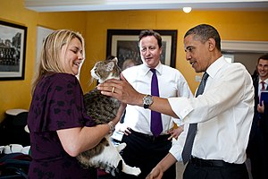 British Prime Minister David Cameron introduce...