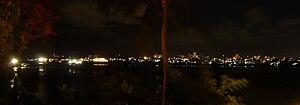English: Mombasa by night