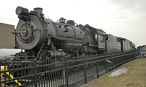 PRR steam locomotive No. 7688 at the Railroad ...