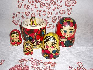 Russian Nested Doll: Matryoshka