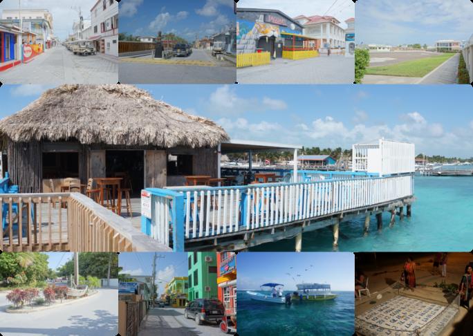 San Pedro, Belize - Collage