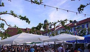 view of Bad Dürkheim, Germany