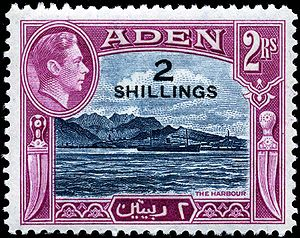 1951 stamp depicting Steamer Point with the ou...