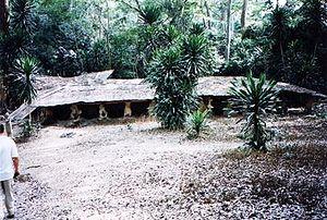 Temple of Osun in Osogbo - Osun state - Nigeri...