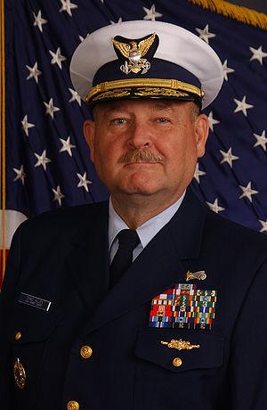 Coast Guard Commandant Thad W. Allen, from htt...