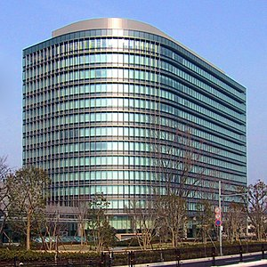 The new headquarters of the Toyota Motor Corpo...