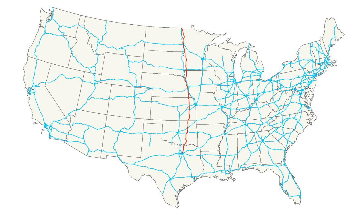 U S Route 75 Wikipedia