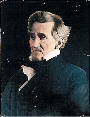 English: Andrew Jackson.