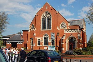 English: Baptist Church, Westcliff-on-Sea The ...