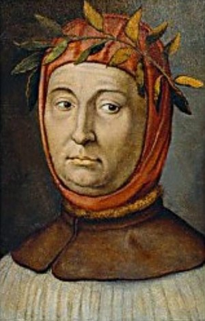 Portrait of Francesco Petrarca (1304-1374), It...