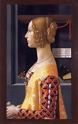 Giovanna Tornabuoni, by Ghirlandaio